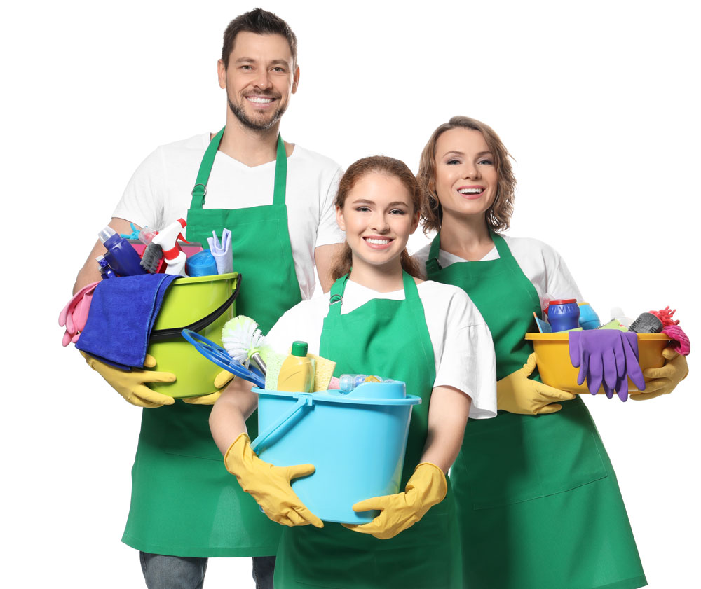 professional office cleaning staff